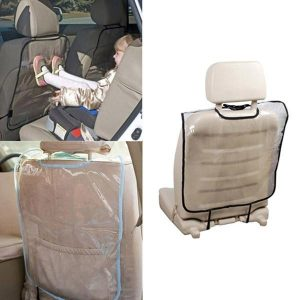 1 Piece Car Auto Seat Back Kick Mat Cover Protector