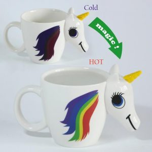 3D Unicorn Magic Color Mug