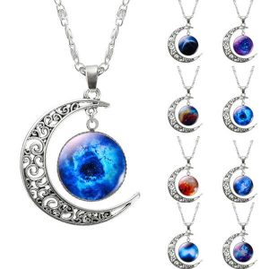 Charming Galaxy Pendant Necklaces