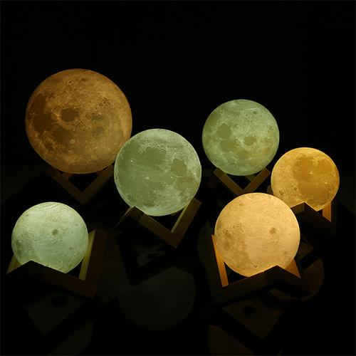 LUNA - LED Moon Night Light