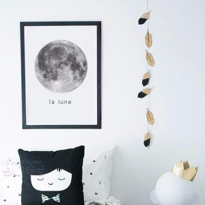 Nordic Moon Wall Decor