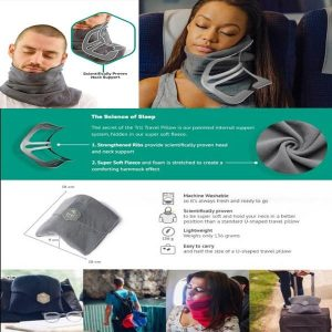 Super Soft Neck Support Travel Pillow main 1