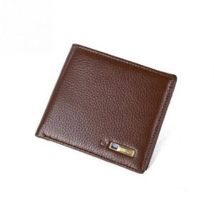Genuine Leather Smart Wallet with Alarm, GPS, Bluetooth, Anti-Theft