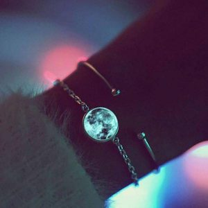 Luminous Moon Glow in the Dark Bracelet