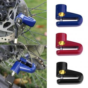 Anti-theft Disc Brake Rotor Lock