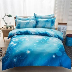 3D Galaxy Duvet Cover