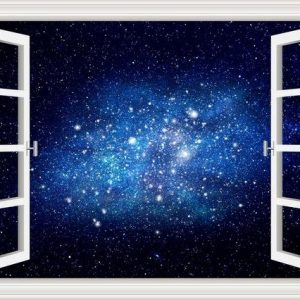 3D Planet Galaxy Wall Sticker