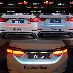 LED Strip Lighting Rear Trunk Tail Light