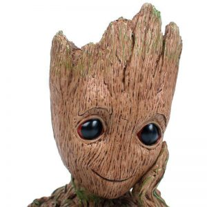 Adorable Groot Action Figure Guardians of The Galaxy Flowerpot